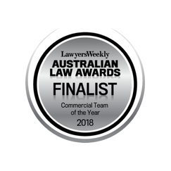 Commercial Team of the Year Finalist logo