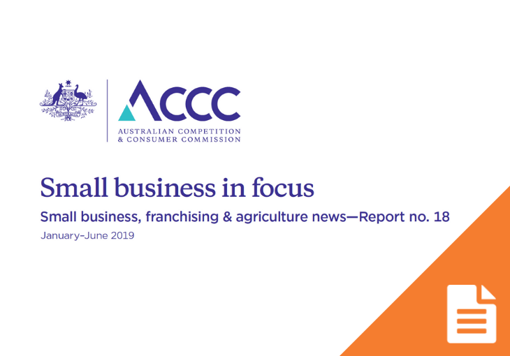 ACCC continues to focus on enforcement and key business sectors
