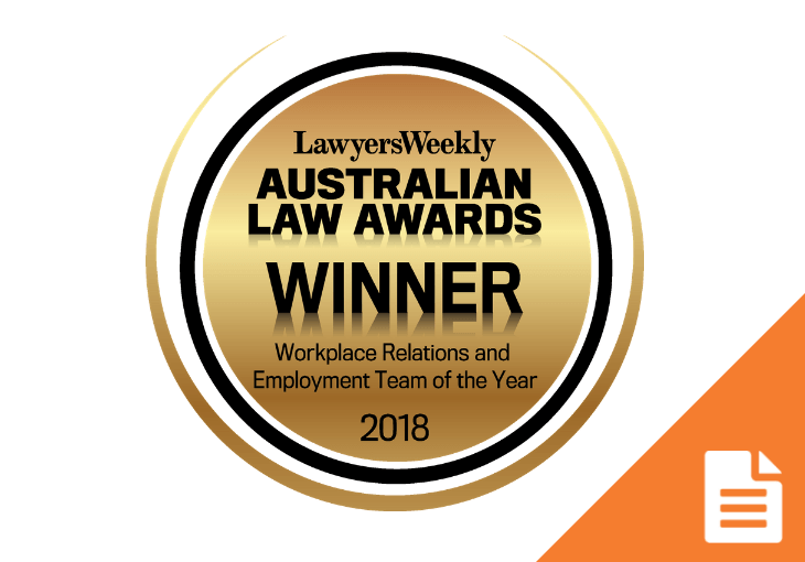 ABLA wins again – voted best in field for Workplace Relations and Employment Law