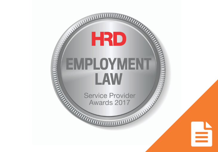 HR Service Provider Awards – Employment Law